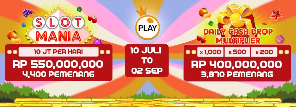 PP Slot Mania n Cash Drop